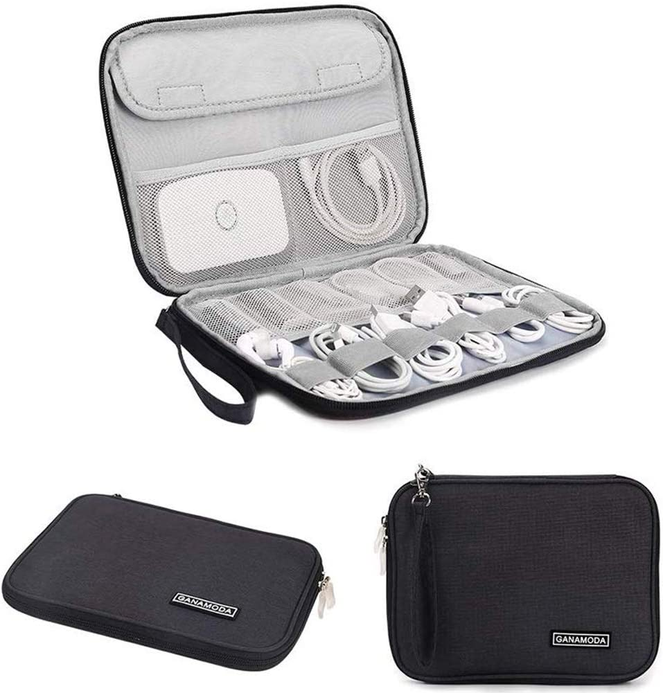 GANAMODA Electronics Organizer Bag for Travel