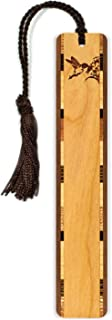 product image for Personalized Hummingbird, Engraved Wooden Bookmark with Tassel