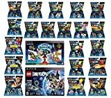 Skylanders Imaginators Starter Pack + Lego Dimensions Starter Pack + The Simpsons Homer + Scooby Doo + Portal 2 + Jurassic World + Back To The Future + 14 Fun Packs Playstation 3 or PS3 Slim Console