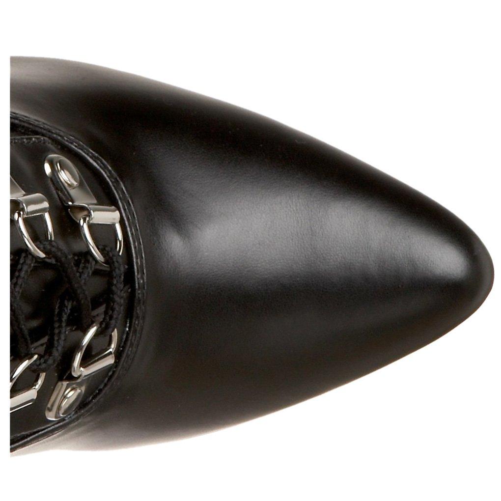 Pleaser Boot Women's Seduce-3024 Tigh High Boot Pleaser B0024LYRNY 14 B(M) US|Black Stretch Pu a6cb99