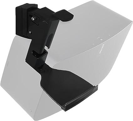 Black Swivel Bookshelf Audio Speaker Wall Mount for Sonos PLAY 5 1st Gen Design