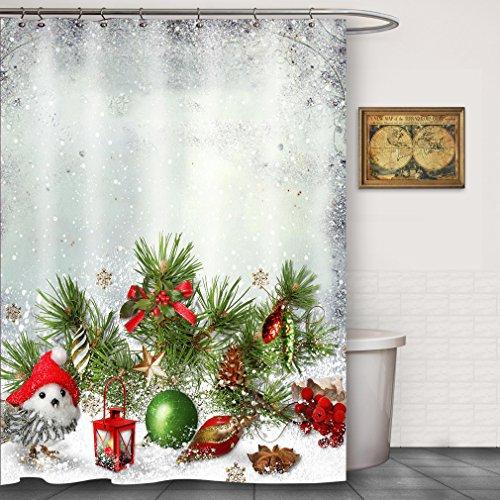 curtain rod pine cone - 7