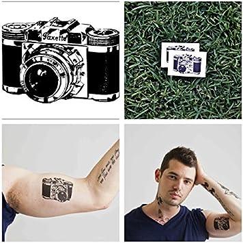 Tatuaje Temporal Tattify - Retro Camera - Sin cámara de teléfono #2 ...