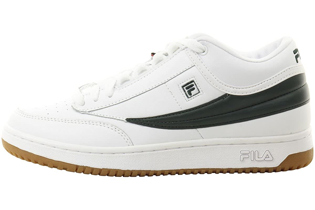 Fila Men's T-1 Mid Leather Athletic Sneakers