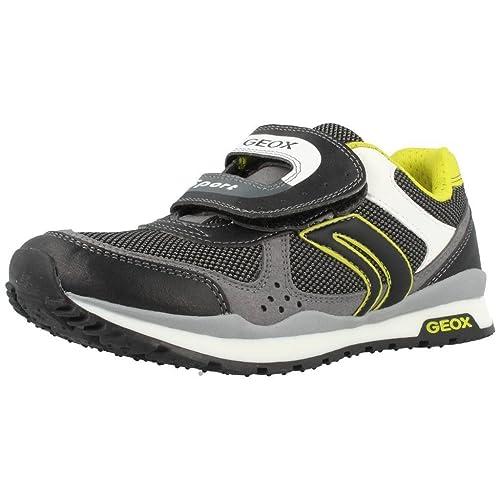 Zapatillas para niï¿œo, color Negro , marca GEOX, modelo Zapatillas Para Niï¿œo GEOX J PAVEL B Negro: Amazon.es: Zapatos y complementos