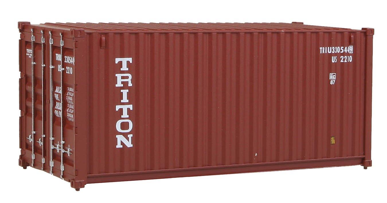 Échelle H0 - Container 20 Pieds Triton