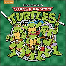 Teenage Mutant Ninja Turtles 2019 Calendar: Amazon.es ...