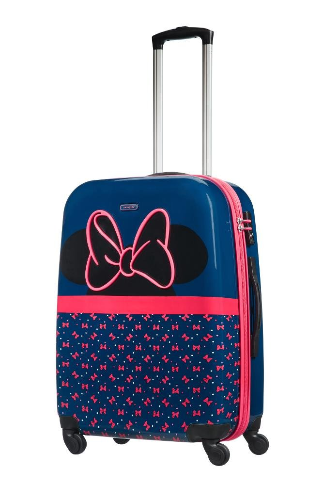 SAMSONITE Disney Ultimate 2.0 - Spinner 65/24 3.3 KG Equipaje Infantil, 65 cm, 55.5 Liters, (Minnie Neon): Amazon.es: Equipaje