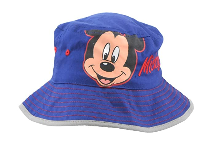 Image Unavailable. Image not available for. Color  Disney Toddler Mickey  Mouse Navy Blue Bucket Hat bdd1bf63ee2