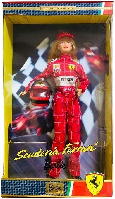 Barbie Collector 25636 Scuderia Ferrari Amazon De Computer Zubehör