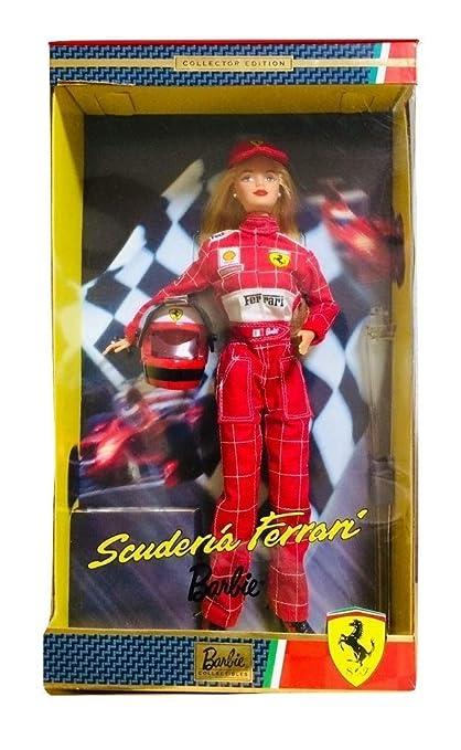 994df74a9b2 Amazon.com  Barbie 2000 Scuderia Ferrari Collectible Doll  Toys   Games