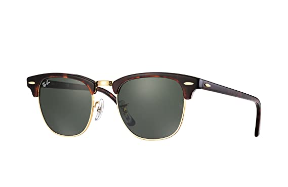 70bc3db705b8b Image Unavailable. Image not available for. Color  Ray-Ban RB3016 W0366  51mm Clubmaster Sunglasses