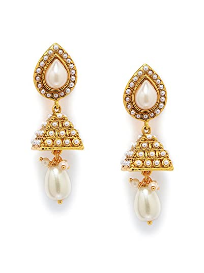 30a2f5d0c3a169 Buy Designer Earrings Online at Low Prices in India | Amazon Jewellery  Store - Amazon.in