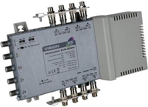 Vision 8 Output Mains Power Multiswitch EV5-508M V5-508MP