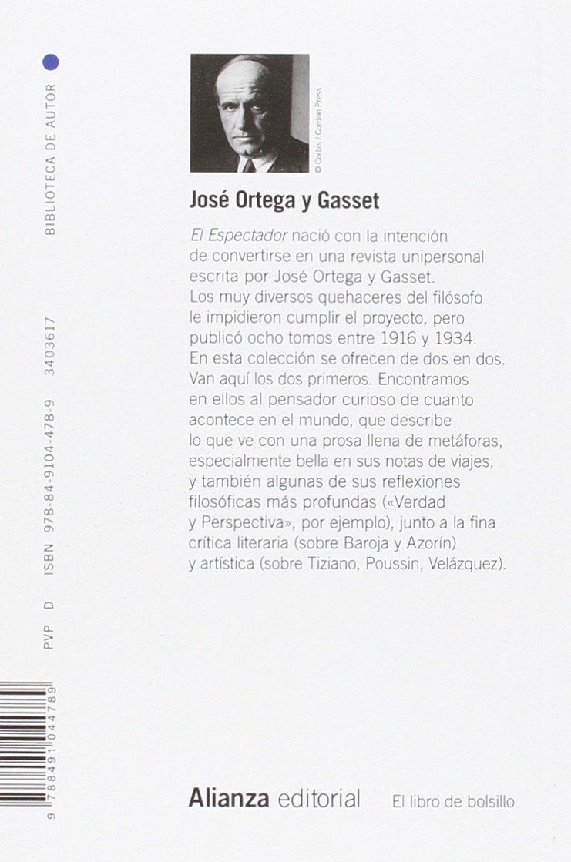 El Espectador I y II El libro de bolsillo - Bibliotecas de autor ...