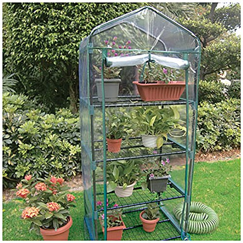 4-tier Greenhouse with Cover