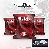 7-8mm Gel Balls Wairnterest White Blaster Hardened Ammo Water Beads Ball 7mm-8mm Bullets 30,000 PCS