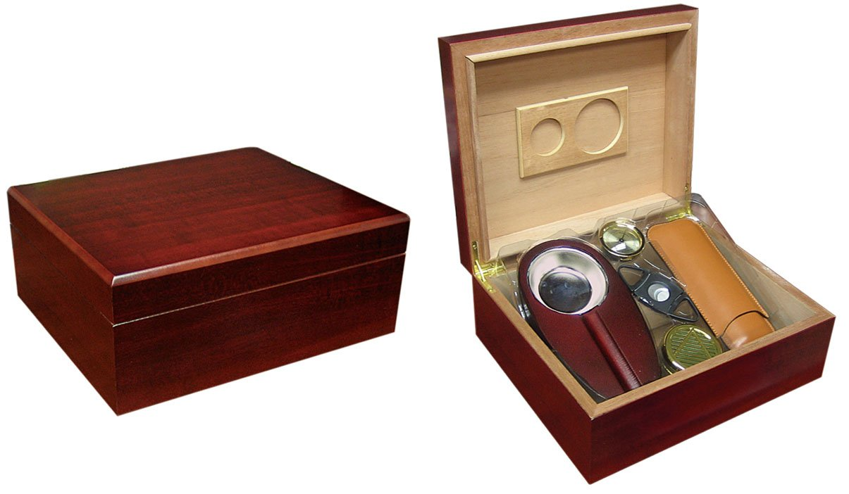 prestige import the diplomat cigar humidor