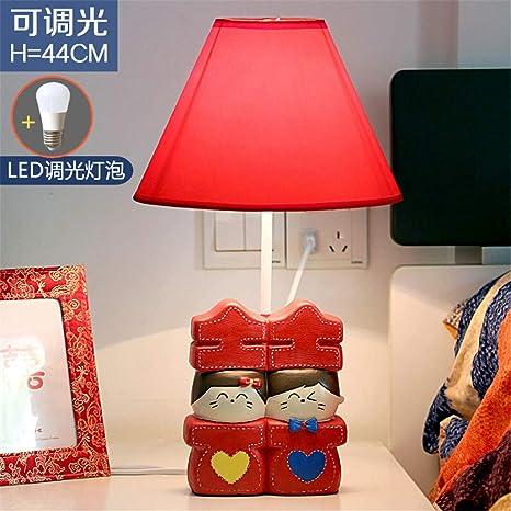 YU-K Hi wa matrimonio habitación dormitorio lámpara de mesa ...