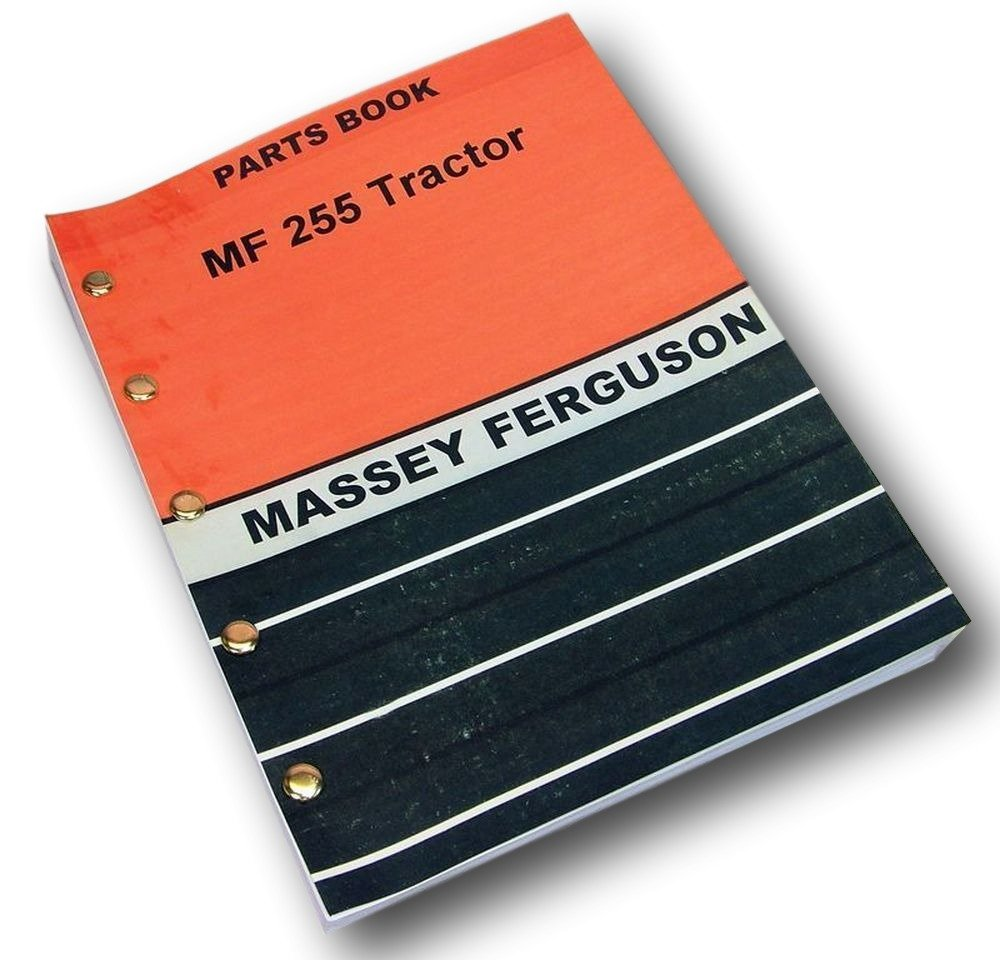 Amazon.com: Massey Ferguson 255 Tractor Parts Catalog Manual View Assembly  Gas Diesel: Industrial & Scientific