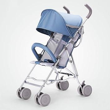Amazon.es: HSDDA Carro de bebé Ligero Cochecitos de bebé ...