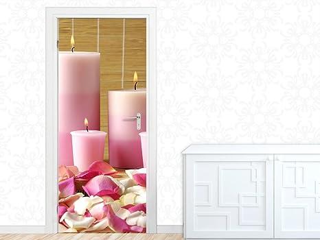 Bagno Rilassante In Casa : Graz design adesivo per porta candele per bagno rilassante