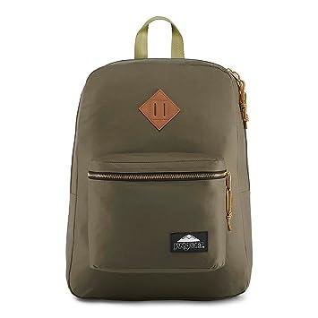 3242e8bca219 Amazon.com   JanSport Super FX LS Backpack - Alpha Green   Casual ...