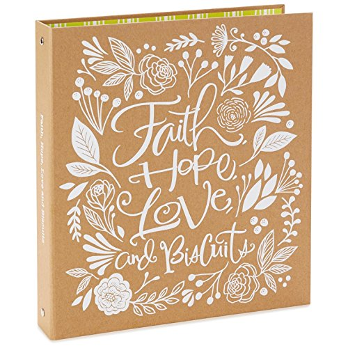 Hallmark Faith, Hope, Love, and Biscuits Recipe Book