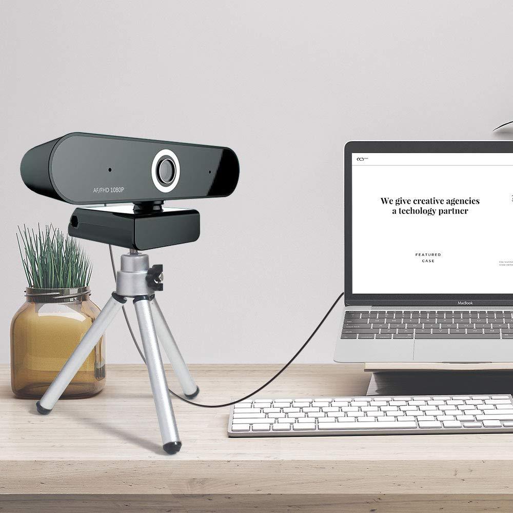 FUVISION Auto Focus Webcam 1080P,Widescreen Digital Web Camera ...