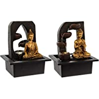 Leonardo Buddha Indoor Water Fountain & LED Light