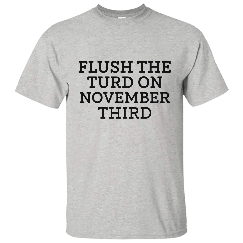 Amazon.com: Flush The Turd On November Third Vote 2020 ...