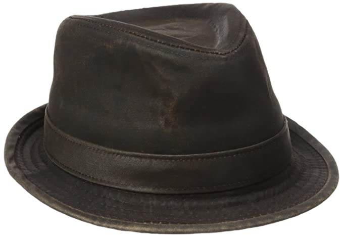 Stetson Men s Weathered Cotton Fedora d419c3ca79a1
