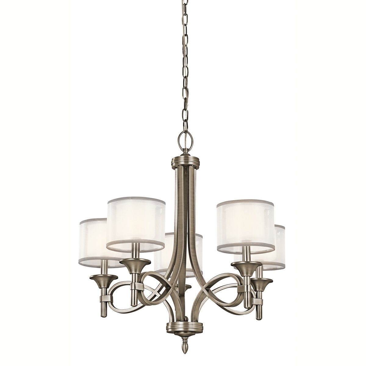 shades with halogen opal elstead type medium in chandelier city finish pewter ceiling kichler linear light glass lights lighting chandeliers classic