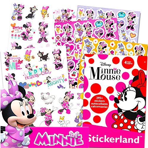 Minnie Mouse Tattoos (Minnie Mouse Stickers & Tattoos Party Favor Pack (200 Stickers & 50 Temporary)