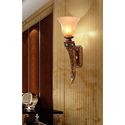 XQY Home Decoration Wall Lamp Hotel Cafe Restaurant LampsModern Simple Imitation Tree Branches Bar Living Room