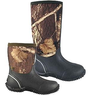 e2c4bcc9888 Amazon.com | Smoky Mountain Boots Youth Boys Judge Black Leather ...