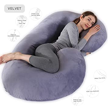 deluxe FEEDING MATERNITY PILLOW RELAX SUPPORT PREGNANCY WOMAN BABY  cushion