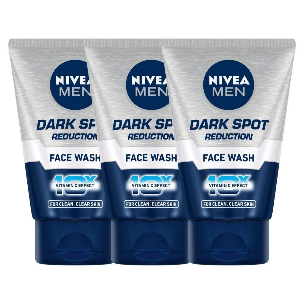 Nivea Dark Spot Reduction Face Wash, 100ml (Pack of 3)