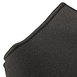 Cramer Neoprene Ankle Compression Sleeve, Best Ankle Support For Running and Walking, Accelerated Ankle Sprain Recovery, Plantar Fasciitis, Arthritis and Tendinitis Relief, Black, Medium