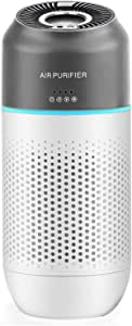 Tobeape Portable Air Purifier for Home Large Room Bedroom,Odor Allergies Eliminator-Automatic Sensing and Gesture Sensing to Remove Pollen,Smoke,Dust,Mold,Pets,USB Air Filter