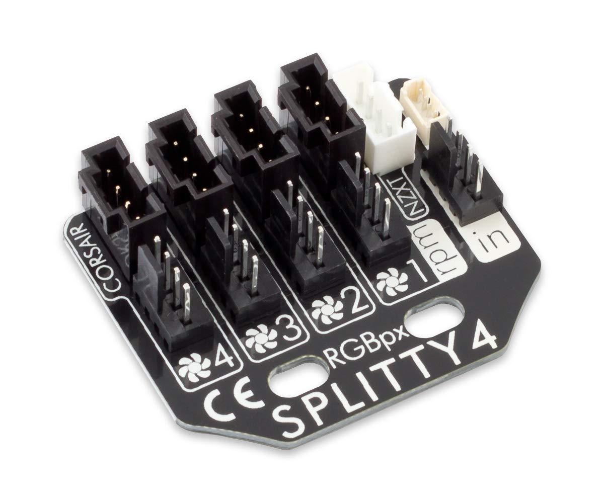 Divisor de 4 vías Aquacomputer RGBpx Splitty4 Board