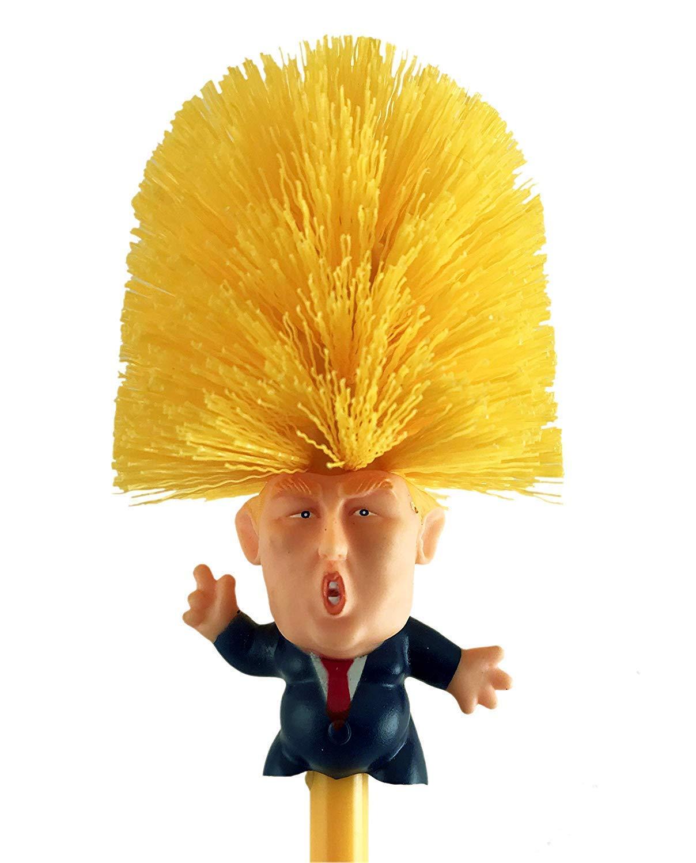 ZYEZI Escobilla para Inodoro Donald Trump Presidente, Comandante ...