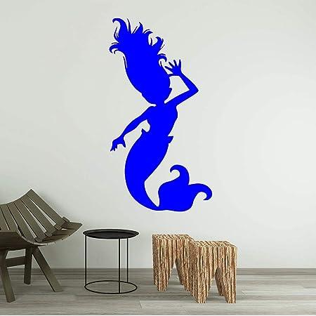 zhuziji Cute ful Mermaid Vinyl Wallpaper Rollo Muebles ...