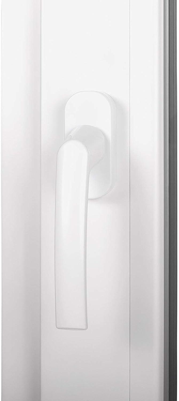 Premium Kunststofffenster Von Komforta Garagenfenster//Gartenhaus Fenster BxH 70 x 70 cm 2-fach Verglast Din Links-Funktion Dreh Kipp Fenster Kellerfenster Wei/ß//Anthrazit BxH 700 x 700 mm