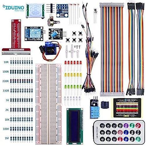 iduino GPIO Breakout Kit for Raspberry Pi 3/2/Zero Model B/B+, Also Fit for  Arduino Uno Mega2560 Nano Projects, Beginners Learning Program PDF