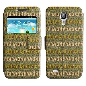LEOCASE rata bailando Funda Carcasa Cuero Tapa Case Para Samsung Galaxy S4 Mini I9190 No.1004133