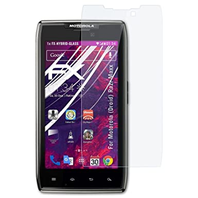 atfolix motorola droid razr maxx glass protector fx hybrid glass rh amazon co uk Motorola RAZR Maxx Manual Motorola W385