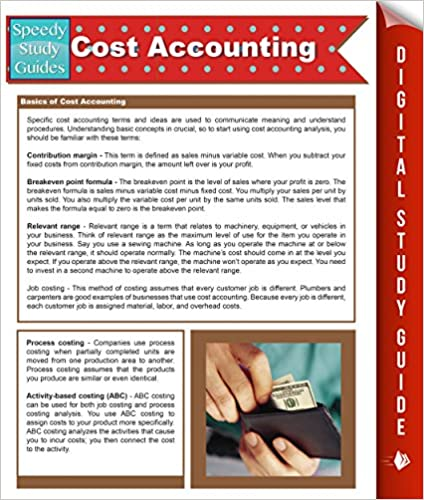 Amazon com: Cost Accounting (Speedy Study Guides) (Cost