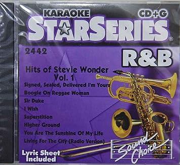 Stevie Wonder, Karaoke - Karaoke: Hits of Stevie Wonder 1