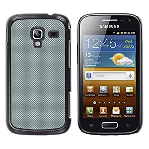 CASEMAX Slim Hard Case Cover Armor Shell FOR Samsung Galaxy Ace 2- GRAY DOTS PATTERN